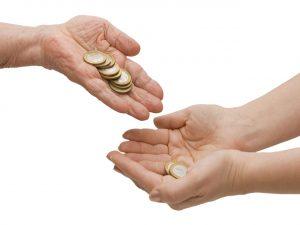 Peniaze do ruky